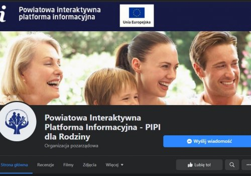 Powiatowa Interaktywna Platforma Informacyjna ma własna strona na Facebook'u